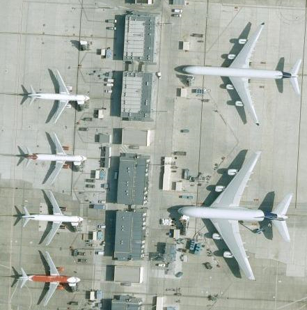 FUN WITH PHOTOS See An Airbus A380 From Space