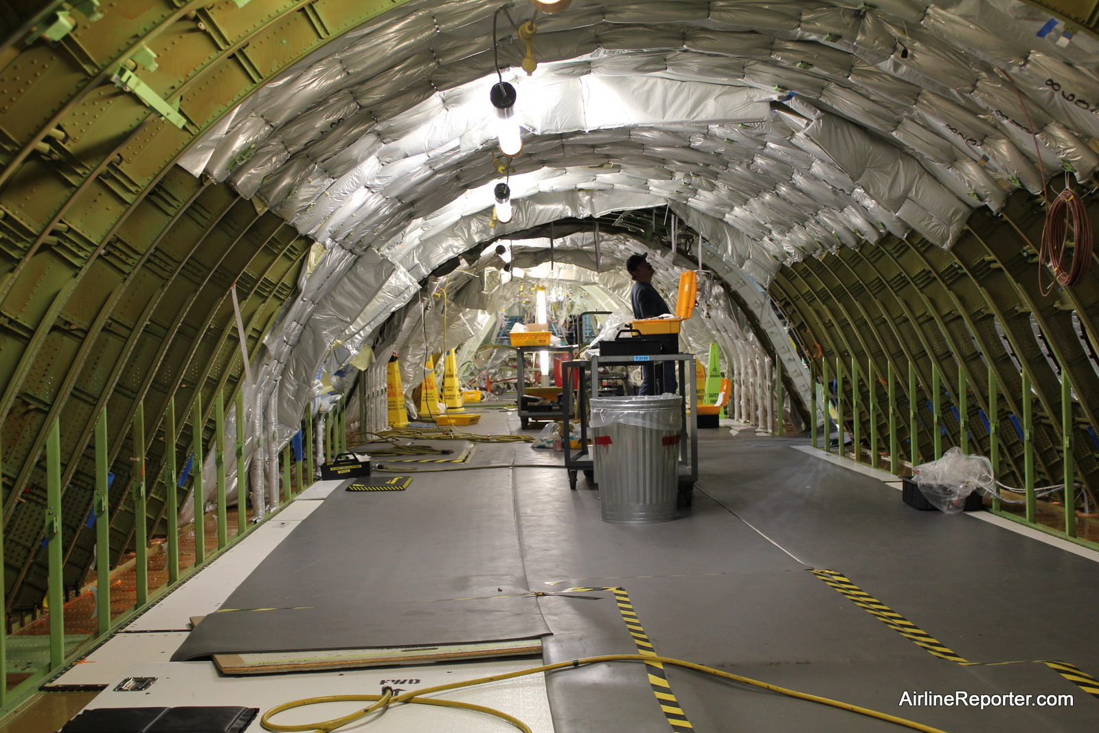 Photos Factory Floor Tour Of The Boeing 747 8