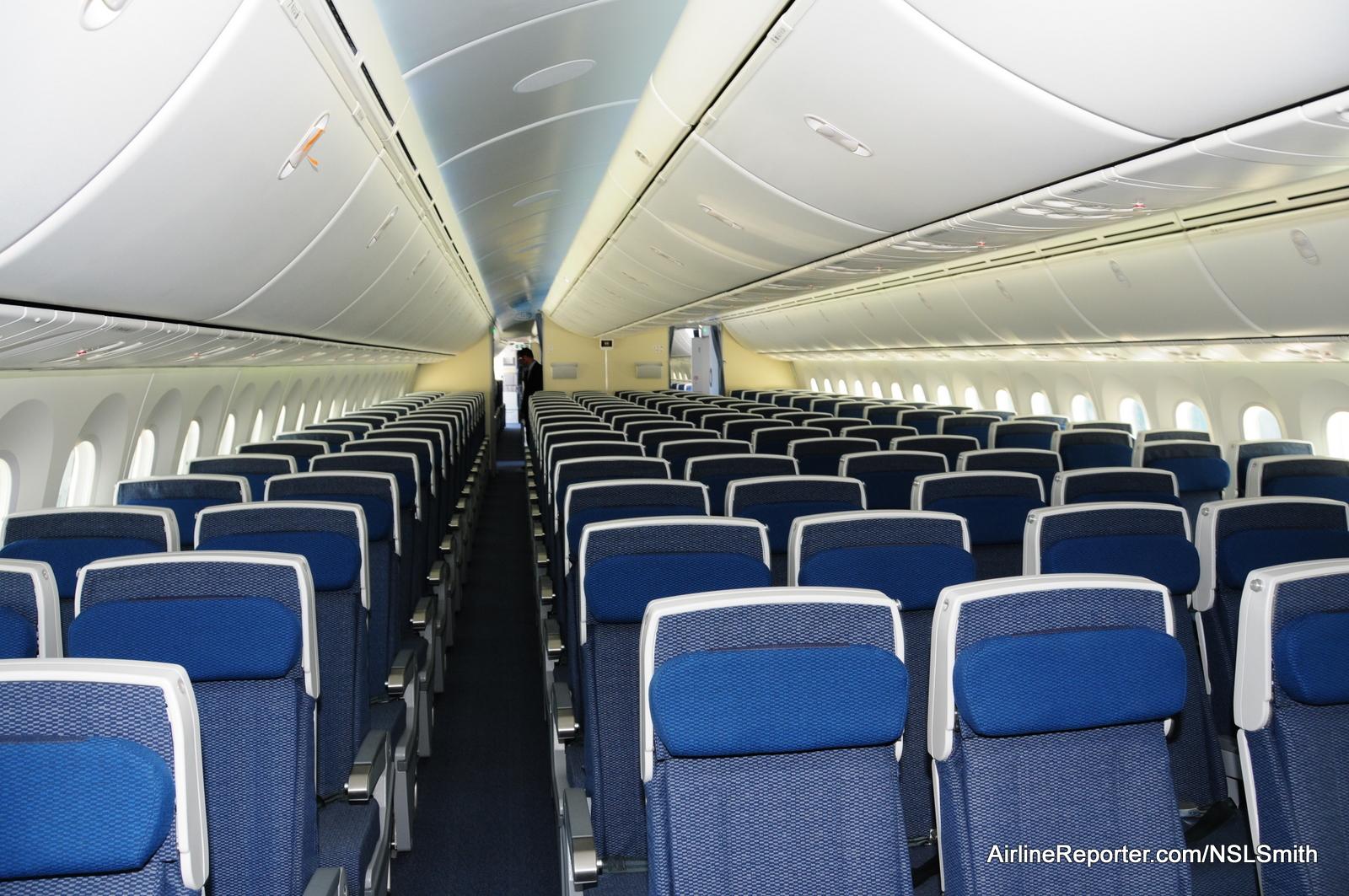 Boeing 787 Dreamliner Interior