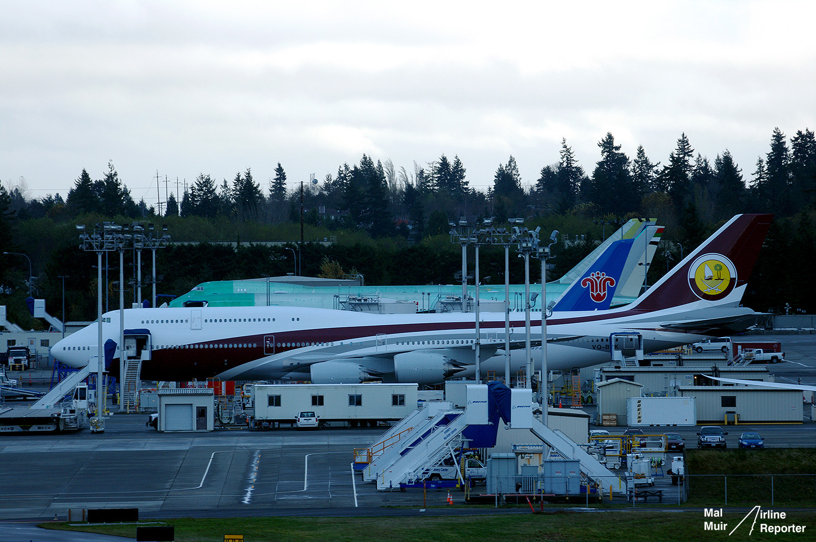 Updated Who Owns This Boeing 747 8 Vip A Mystery At