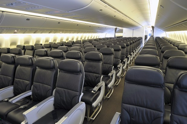 Economy Class In Air Canada S New 777 300er Photo