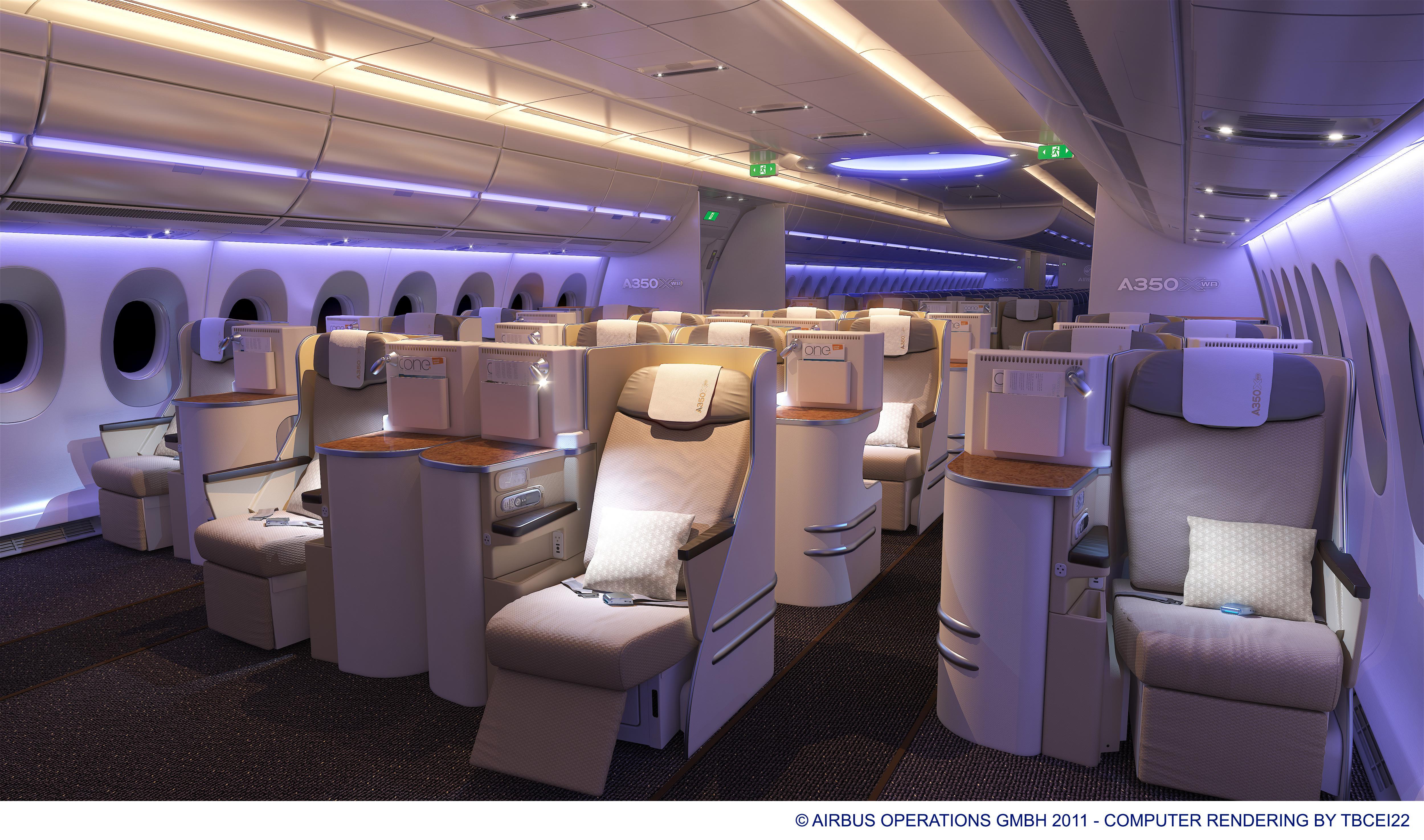Photos Interior Tour Of The Airbus A350 XWB