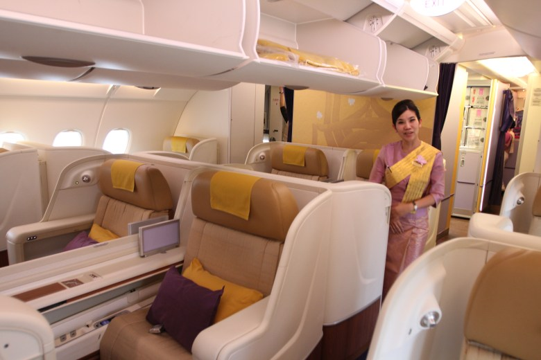 Image result for thai airways first class a380