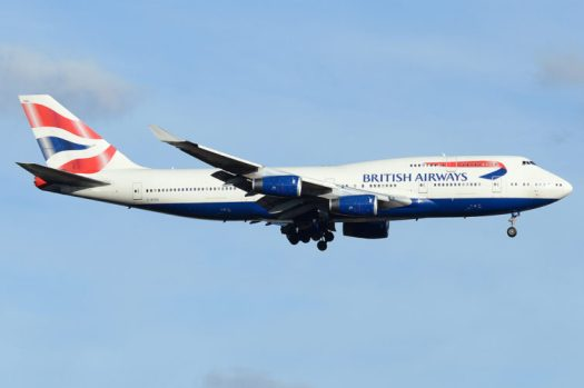 British Airways Boeing 747-400 - Photo: Andrew W. Sieber | FlickrCC
