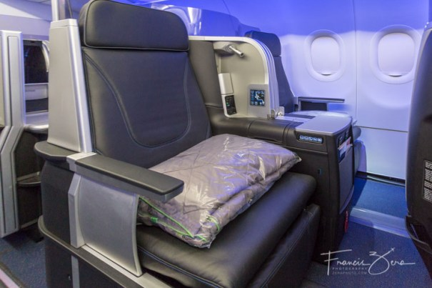 JetBlue's Mint seating is available on certain A321s.