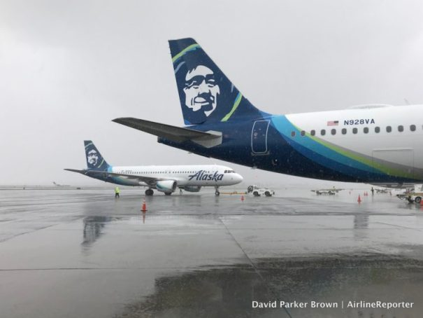 It is still weird seeing the Alaska livery on the Airbus A320, but I am pretty sure it looks good.