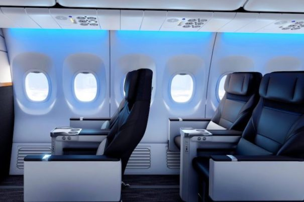 Sweet lighting for some sweet seats - Photo: Alaska Airlines