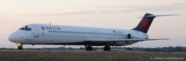 N675MC, a McDonnell Douglas DC-9-50. It is now a museum piece.