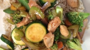 Dinner Recipe: Chicken Stir Fry with Rice