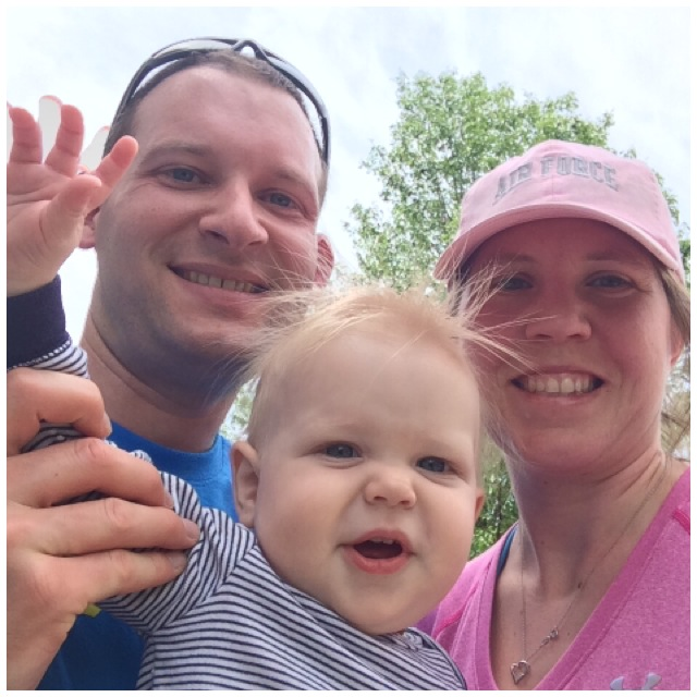 Family shot after Mother's Day 5k