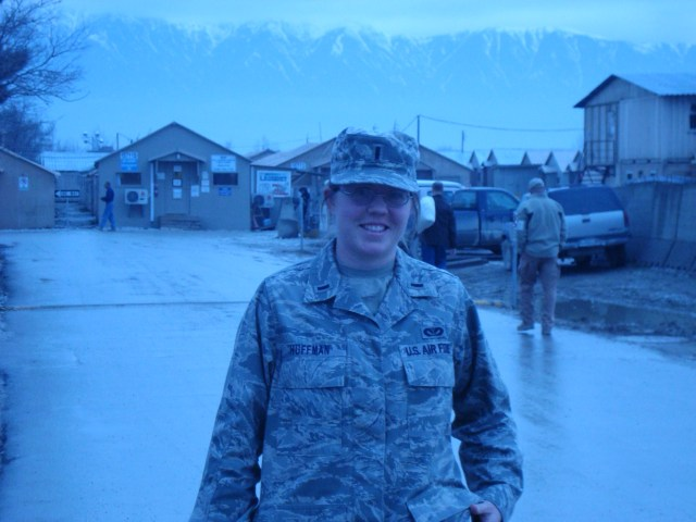My first day in Afghanistan at Bagram AF.