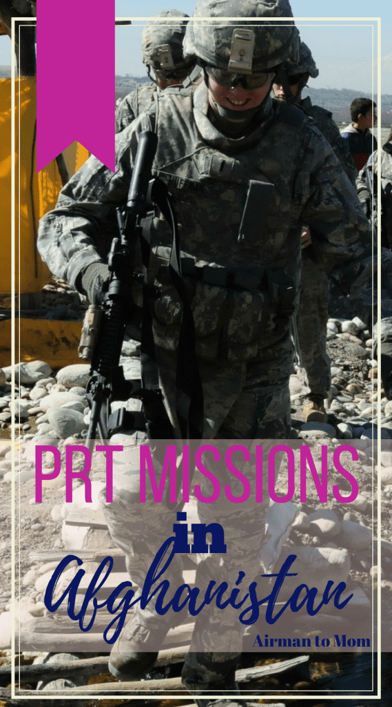 "The PRT missions ""outside the wire"" (off base) for many different reasons. Most often the PRT Engineers had some part to play in the whatever the PRT was doing when our team left the base. The PRT had multiple missions outside the wire and often construction projects were a part of what we doing. Here is a little about what we did off base. Part 4 of my 5 part series about being deployed to afghanistan on a prt. #afghanistan #prt #deployment"