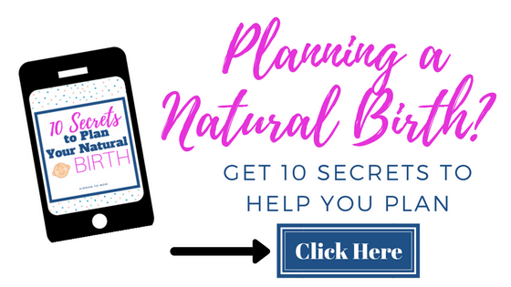 Are you planning a natural birth? You should check out my free resource guide to help you plan your own natural childbirth! #childbirth #pregnacy #naturalbirth