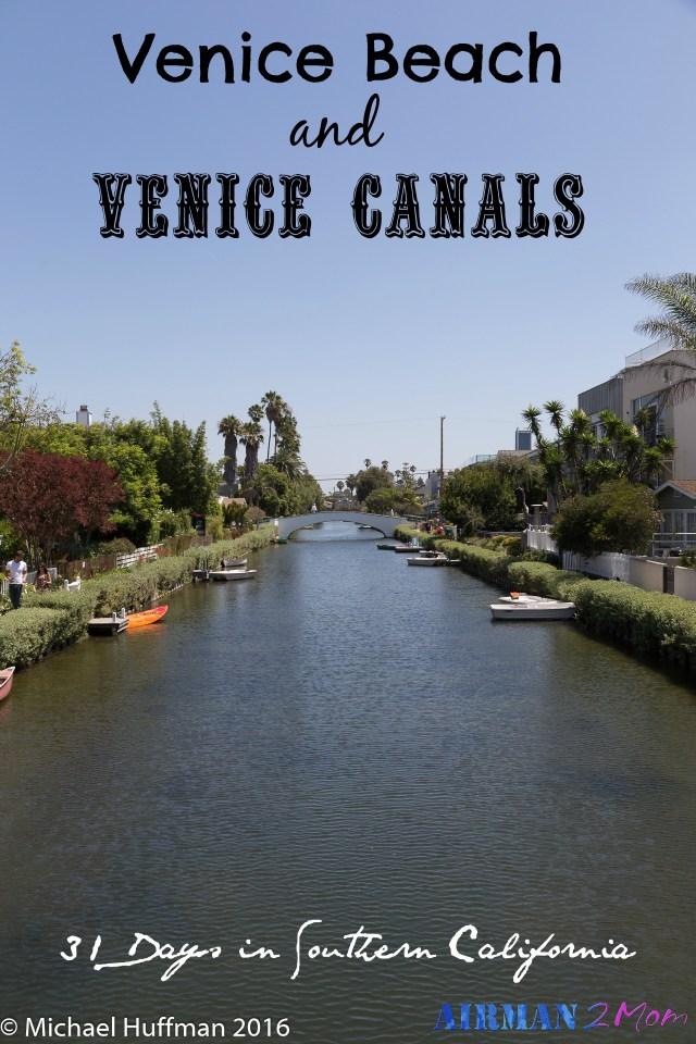 Find a hidden gem near Venice Beach. Check out the Venice Canals. A fun tourist spot in LA.