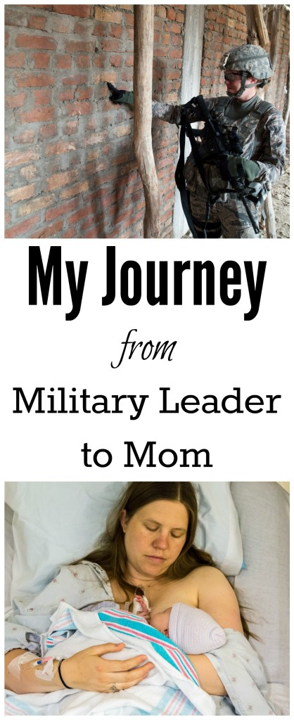 The road from being in the military to staying at home was a hard one. I'm sharing my story to encourage others who are going through the transition and know that it gets better.