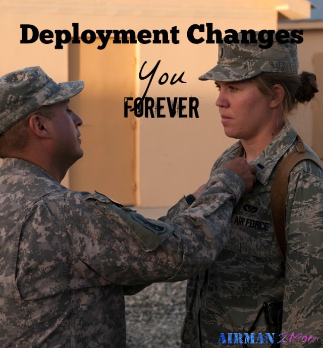 Deployment changes you forever: I have been home from my deployment for over 5 years, but it is still a part of me. Here is my reflection on how deployment stays with you even after you go home.