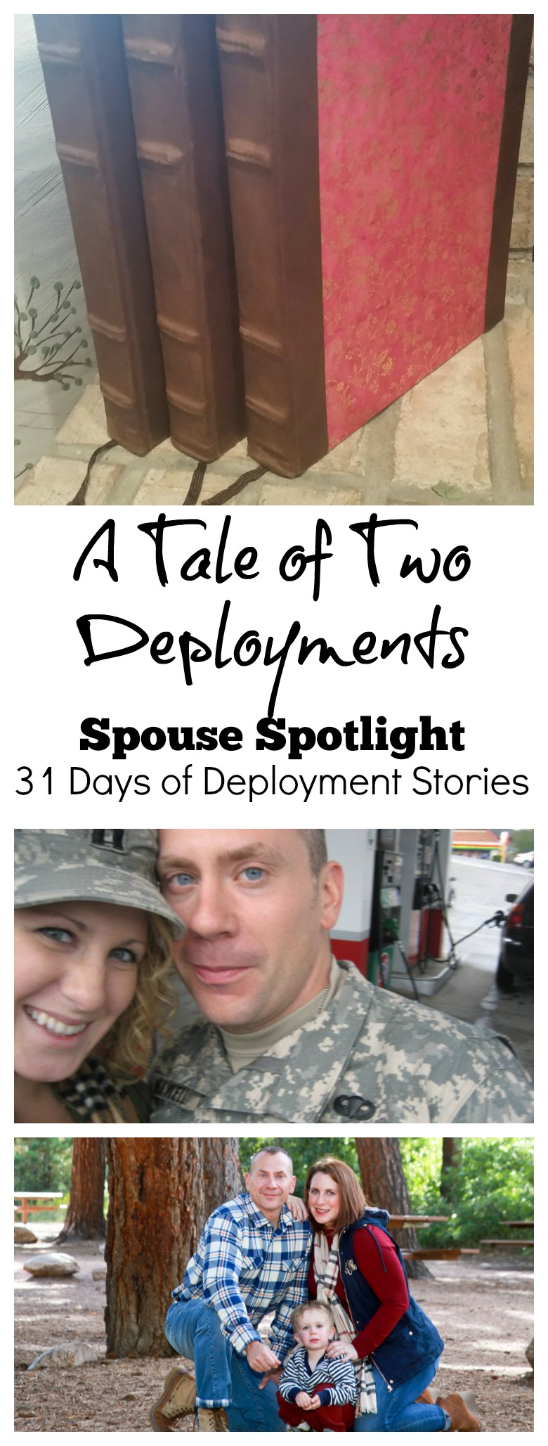 Sharing deployment stories means not forgetting those left behind. Today is the first Spouse Spotlight for my 31 Day Deployment Series. Christine is sharing two different deployment experiences as life changes. #write31days #deploymentstories #militaryspouse #thisisdeployment