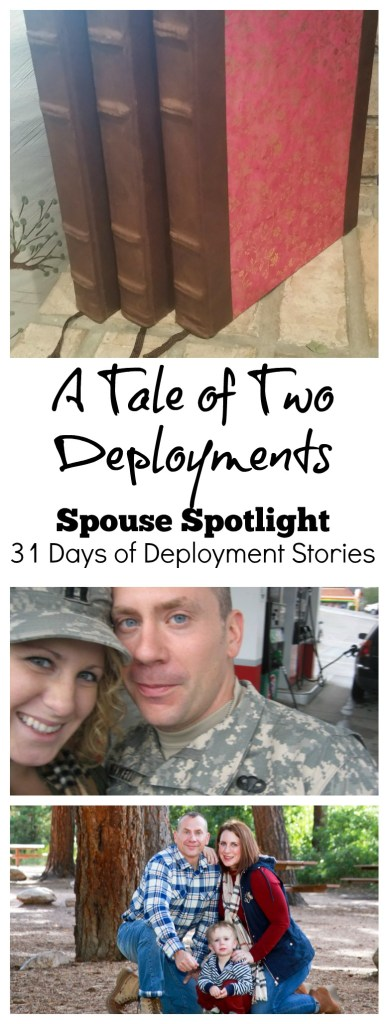 Sharing deployment stories means not forgetting those left behind. Today is the first Spouse Spotlight for my 31 Day Deployment Series. A Tale of Two Deployments.
