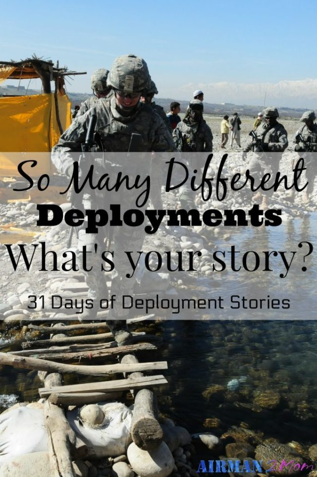 Did you know your story still matters? And that is why I am sharing deployment stories. I hope they encourage and inspire you. And maybe you will learn something about yourself and those who have served our military and are still serving today.