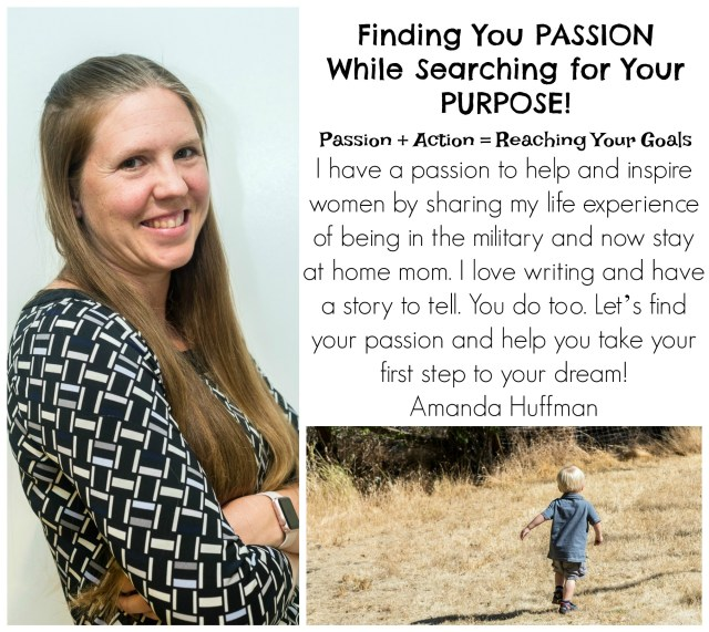 Are you searching for your passion after going through a life transition? I can help you find your passion, plus encouarge and inspire you to reach your goal.