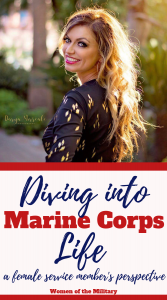 On the advice of a friend who had joined the Marines a few years before Suzie started looking into the military. He urged her to join the Air Force, but she was strong willed and independent. She walked straight past the Air Force recruiter's office and joined the Marines, she was at MEPS four days later. Susie joined the Marine Corp in August, 1999. She served four years active duty in the Corp. #marinecorp #militarylife #militarywomen