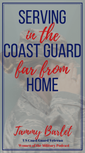 When she joined the coast guard, her mom gave her permission because at least she would be stateside. The Coast Guard soon sent her overseas to work with Thailand and in the Persian Gulf. What an adventure her military life took her. #coastguard #militarylife #womenofthemilitary