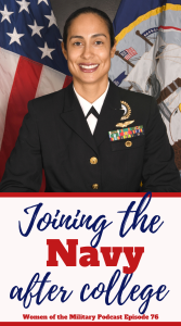 Sometimes the career you start with isn't a good fit, but that doesn't mean your military career is over. Learn how Evita continued her service through three different career fields within the Navy. #militarywomen #podcast #militarypodcast