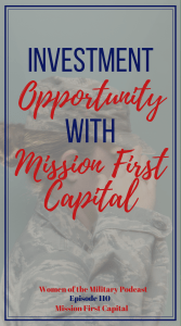 Mission First Capital is a real estate investment opportunity with a 100% veteran-owned company. In today's interview with Alex Breshears, investor relations, shares a little about why Mission First Capital was created and who it is for. #sponsored #investing #realestate #veterancommunity