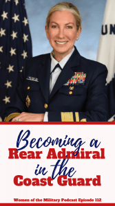 Becoming a Rear Admiral in the Coast Guard