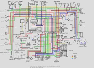colored wire diagram  Ignition & Electrical  HybridZ