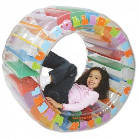 roue gonflable enfant multicouleur idée cadeau