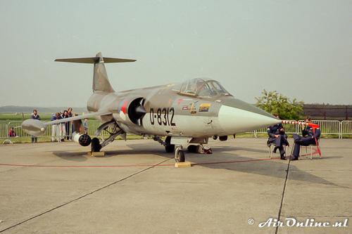 D-8312 F-104G Starfighter KLU
