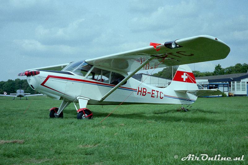 HB-ETC Aeronca 15AC Sedan (Hilversum 1983)