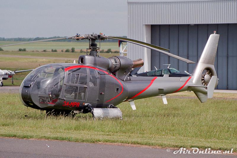 3A-MPR Aerospatiale SA 341G Gazelle, Toussus-le-Noble (F) 1992