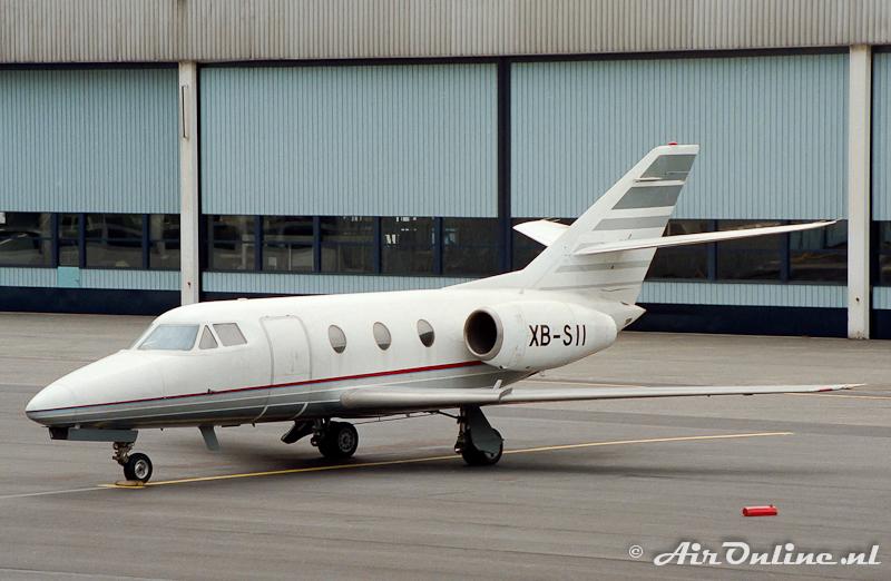 XB-SII Falcon 10 c/n 4 Le Bourget (F), 1993