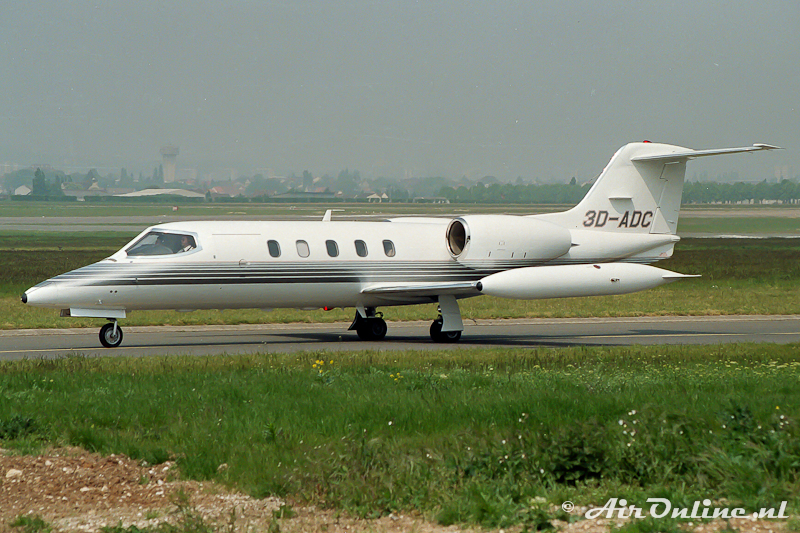 3D-ADC Learjet 35A Le Bourget (F)