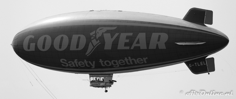 G-TLEL American Blimp Co. A-60+ Goodyear Spirit Of Safety II (Hilversum 11 mei 2011)
