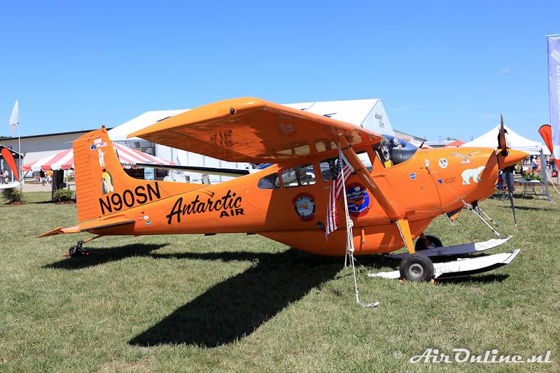 N90SN Cessna A185F