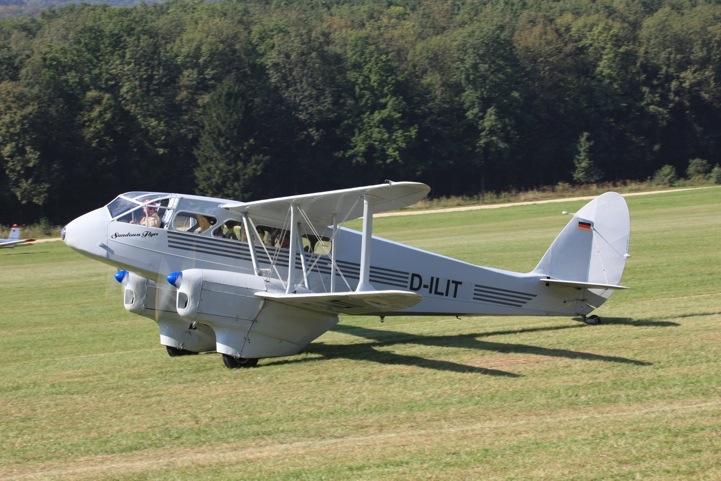 D-ILIT De Havilland DH.89A Drogon Rapid