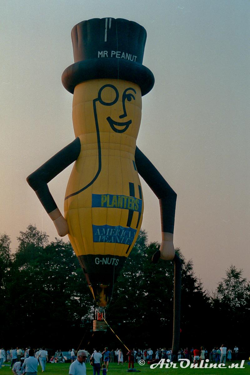 G-NUTS Cameron 35SS Mr Peanut (Mersch LUX, 1988)