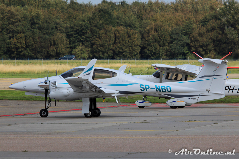 SP-NBO Diamond DA 42 Twin Star (Lelystad, 23 september 2011)