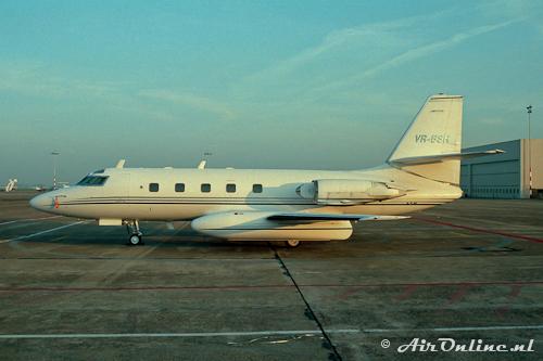 VR-BSH Lockheed L.1329 Jetstar 731 (Schiphol 1996)