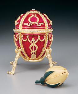 Fabergé ei, model voor G-BNFK