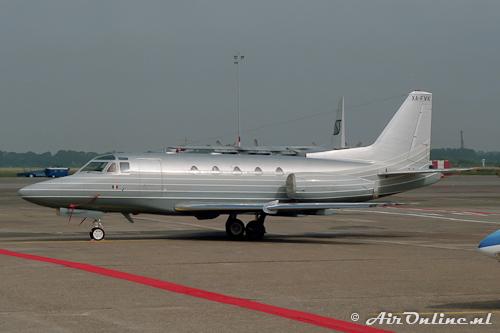 XA-FVK Rockwell Sabreliner 65 (Schiphol, 25 juli 1990)
