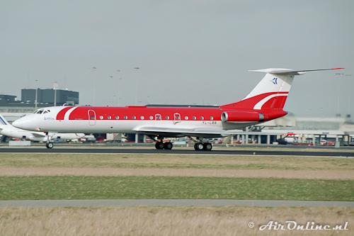 YL-LBB Tupolev Tu-134B-3 (Schiphol 1993)