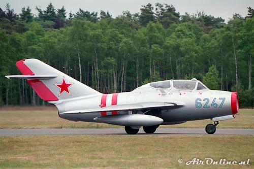 G-OMIG / 6247 Mikoyan-Gurevich MiG-15 Fagot
