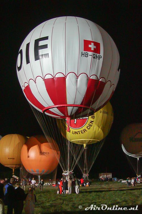 HB-QHP Ballonbau Wörner NL-1000/STU