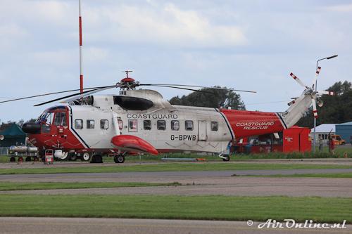 G-BPWB Sikorsky S-61N Mk.II (Den Helder, 25 september 2012)