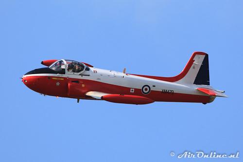 G-BVEZ / XM479 Hunting Jet Provost T3A