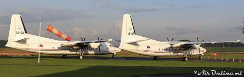 U-05 en U-06 Fokker 50 KLU
